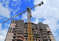 Building constructions royalty free stock photography