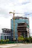 Building Contruction Royalty Free Stock Photography