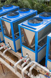 Building cooling assembly Stock Image