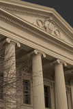 Building with Corinthian Pillars Stock Photography