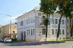 Building on corner of Streets Biletskiy and Bauman, Gomel, Belar Stock Photos