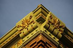 Building Cornice Detail Royalty Free Stock Photo