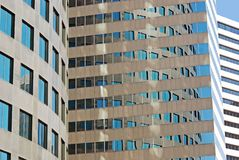 Building Corporate Reflections Royalty Free Stock Image