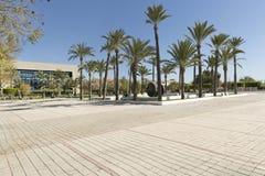 Building corresponding to the Miguel Hernandez University of Elc Royalty Free Stock Image