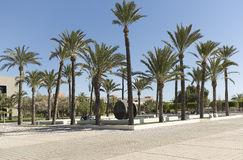 Building corresponding to the Miguel Hernandez University of Elc Royalty Free Stock Photo