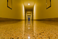 Building corridor stock photography