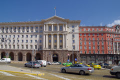 The building of the Council of Ministers of the Republic of Bulg Stock Images