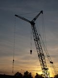 Building crane Royalty Free Stock Photos