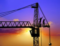 The building crane Royalty Free Stock Image