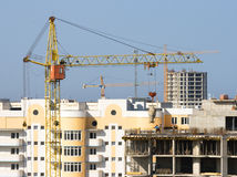 Building crane. Royalty Free Stock Photography