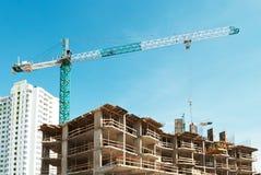 Building crane Stock Photos