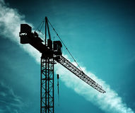 Building crane Stock Image
