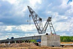 Building crane Royalty Free Stock Photo
