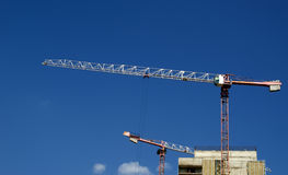 Building crane Stock Photo