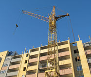 Building crane - 6 Royalty Free Stock Image