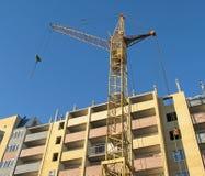 Building crane - 6 royalty free stock image