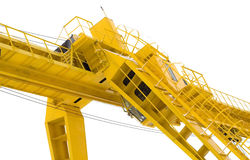 The building crane Stock Images