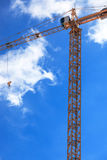 A building crane Royalty Free Stock Photography