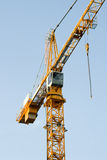Building Crane on Blue Sky Royalty Free Stock Photography