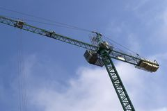 Building crane Royalty Free Stock Image