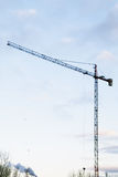 Building Crane Morning Royalty Free Stock Photography