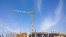Building crane Stock Photography