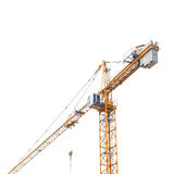 The building crane. See my other works in portfolio Royalty Free Stock Photos