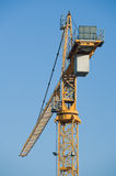Building crane on sky Stock Images
