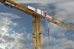 Building crane  on sky background Stock Photography