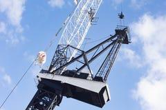 Building Crane in Sydney Stock Image