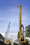 Building crane Royalty Free Stock Photos