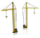 Building cranes Royalty Free Stock Image
