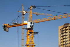 Building cranes Royalty Free Stock Photos