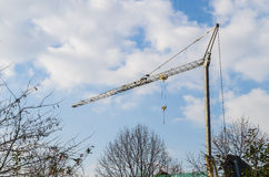 Building cranes Stock Image