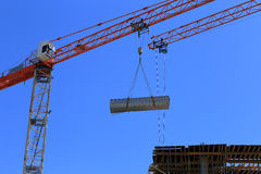 Building with Cranes. Construction tools Stock Photography
