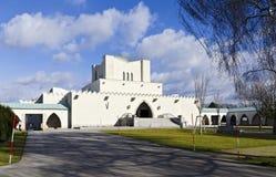Building of a crematorium Royalty Free Stock Image