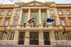 Building of Croatian Convocation Stock Photos
