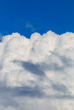 Building cumulus storm clouds Royalty Free Stock Image