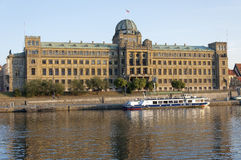 Building of Czech Ministry of Industry and Trade Stock Photos