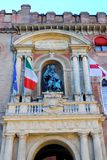 Building d'Accursio municipal or city center in Bologna in Emilia Romagna (Italy) Stock Photos