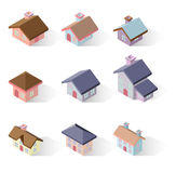 Building 3d isometric Stock Photography