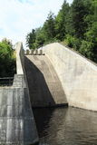 Building of dam Stock Photography