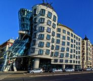 Building, The Dancing House, Prague Royalty Free Stock Photography