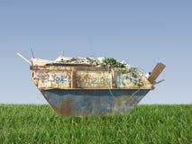 Building debris stock photography