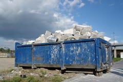 Building debris stock images