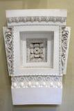 Building decoration in museum of Epidauros Stock Photos