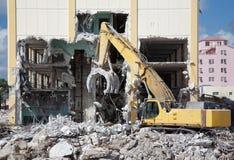 Building Demolition Royalty Free Stock Photos