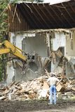 Building demolition 6 Royalty Free Stock Image