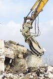 Building demolition Royalty Free Stock Image