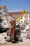 Building Demolition Stock Photography
